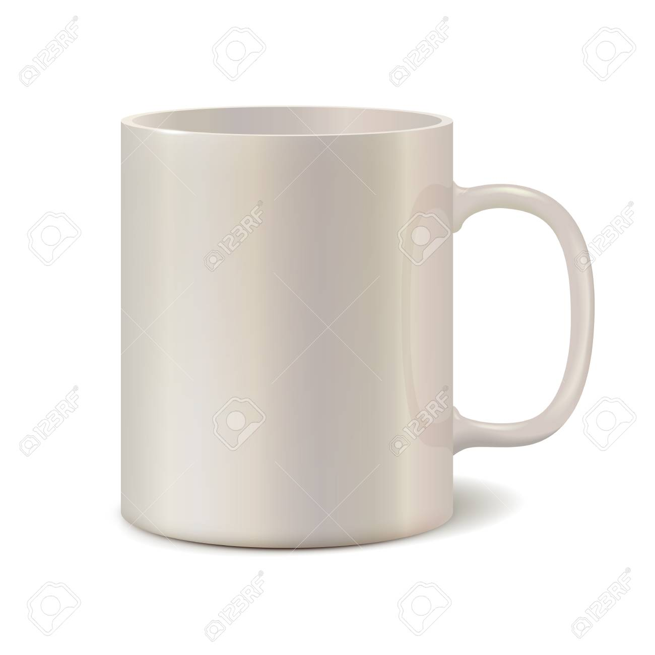 light pearl ceramic mug for printing corporate cup isolated royalty free cliparts vectors and stock illustration image 64659717 light pearl ceramic mug for printing corporate cup isolated