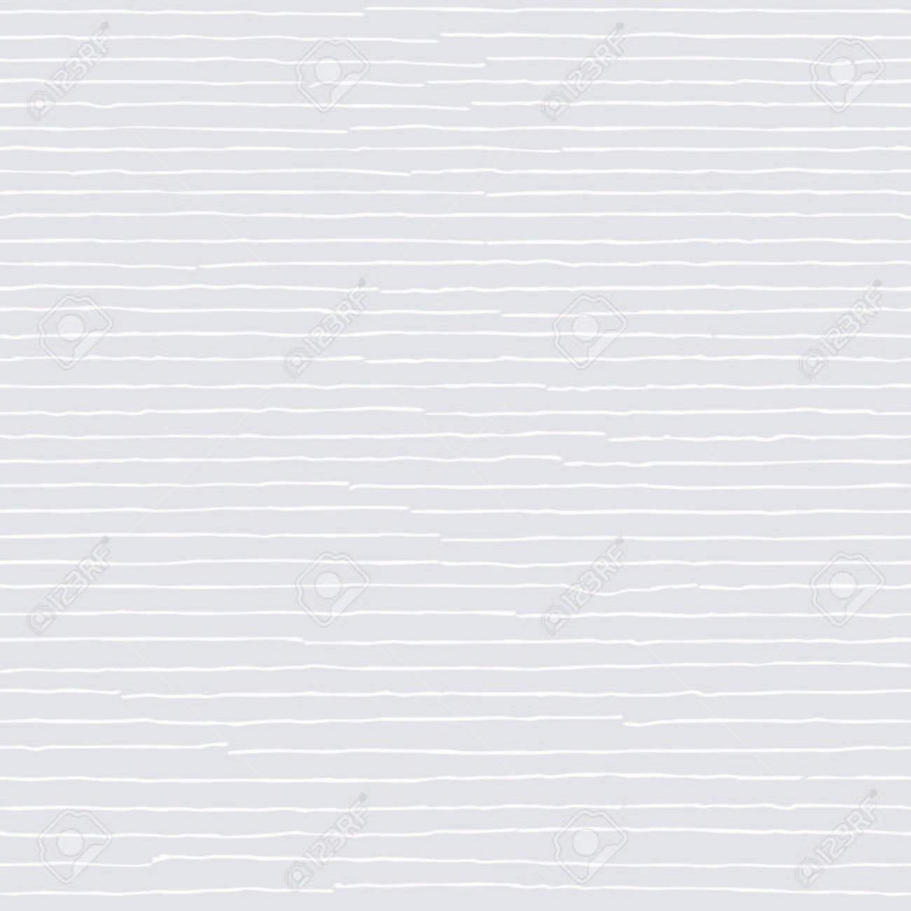 White seamless pattern. Hand drawn light beige abstract striped background with white grunge lines - 126901075