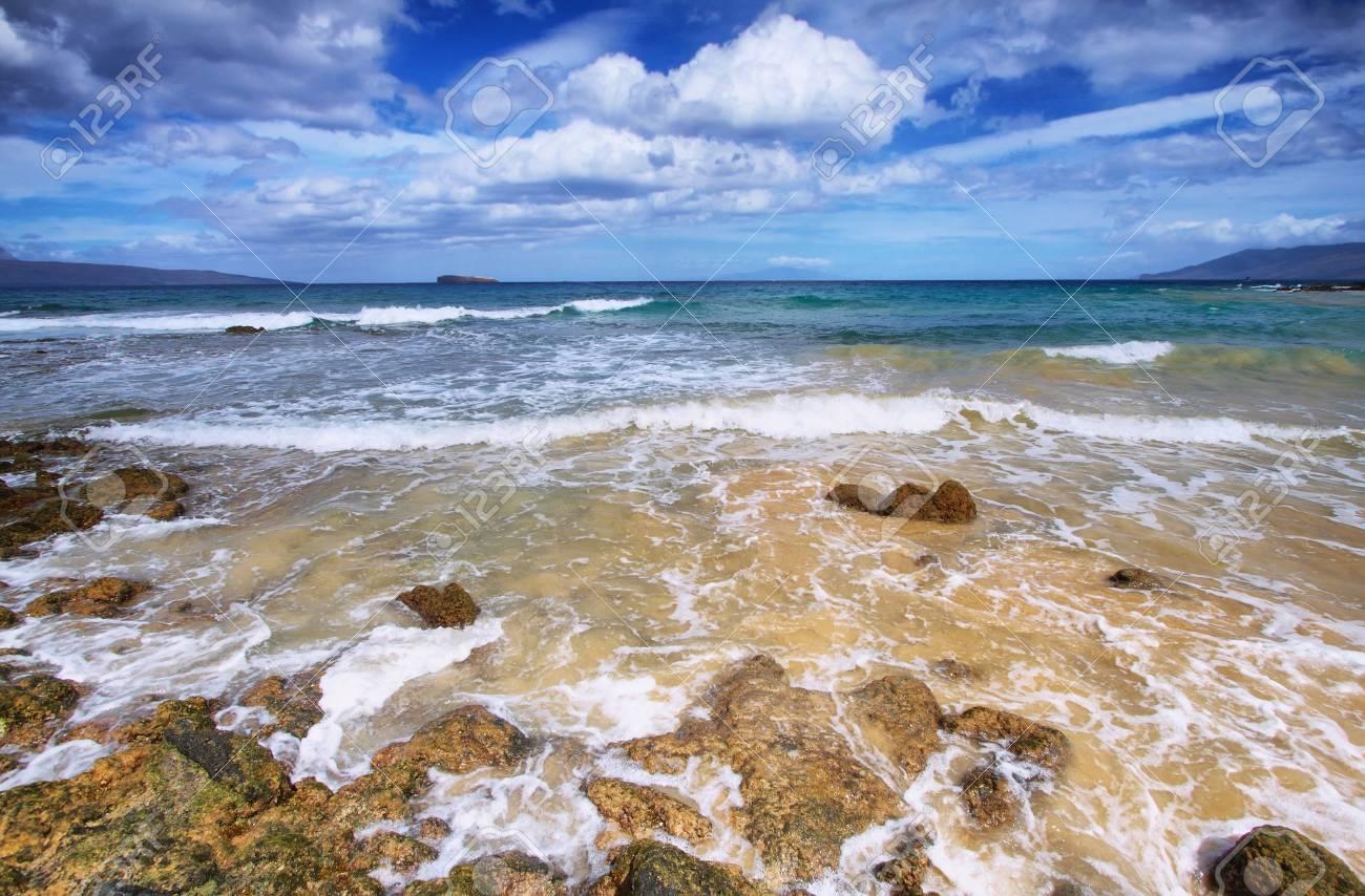 Little Beach Of Makena Beach State Park Maui Hawaii