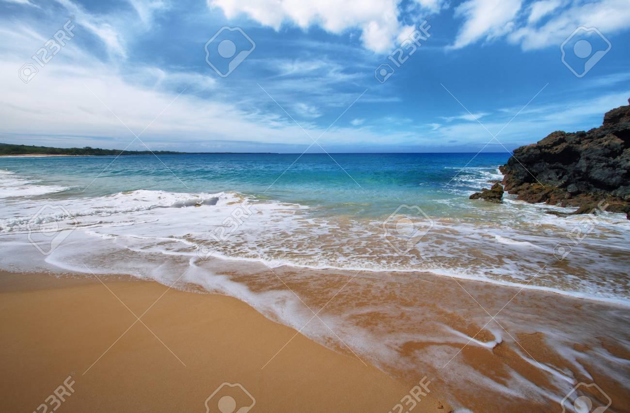 Big Beach Of Makena Beach State Park Maui Hawaii