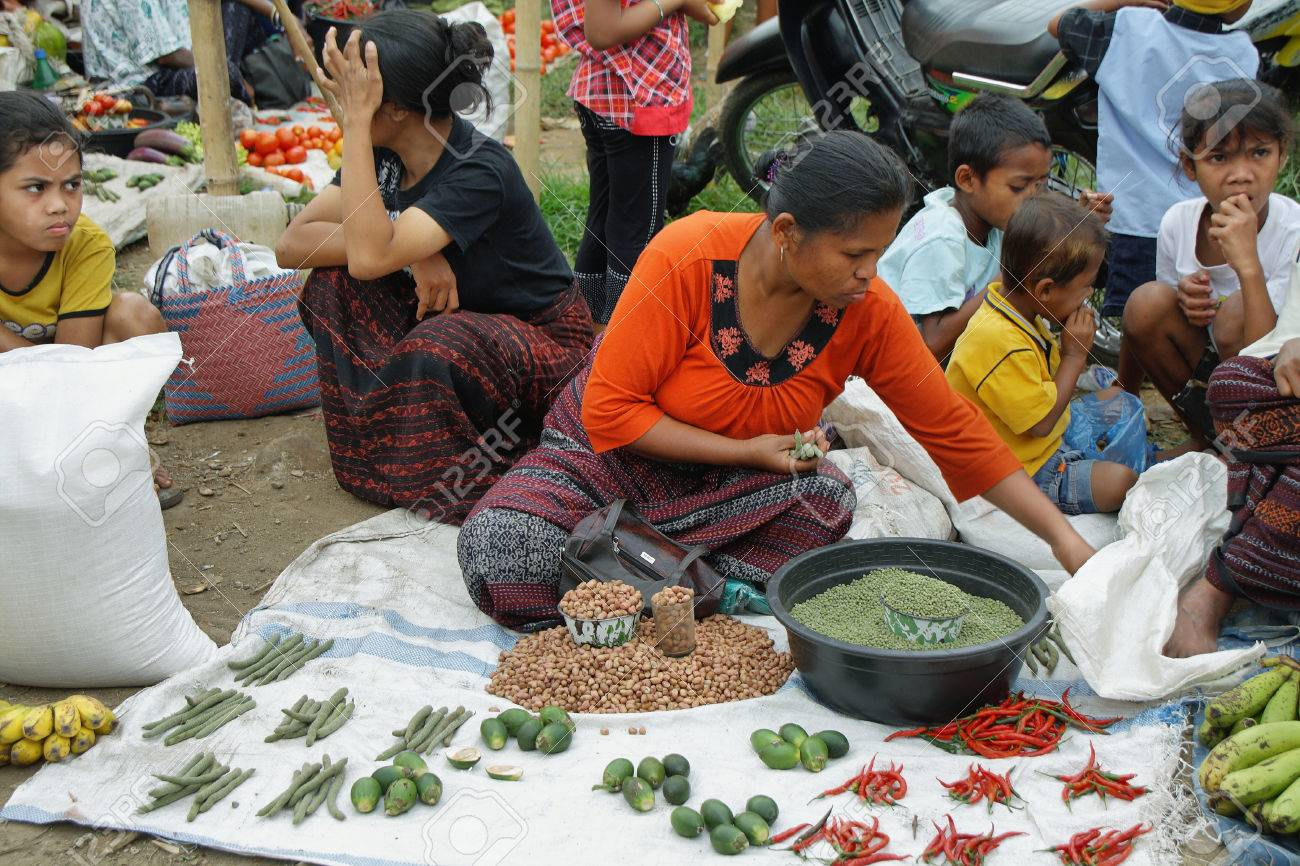 Flores Indonesia September 22 People Of Minority Ethnic Group