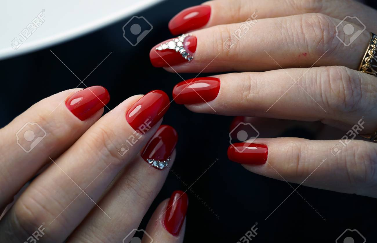 Awesome Nails And Beautiful Clean Manicure. Nails Are Natural ...