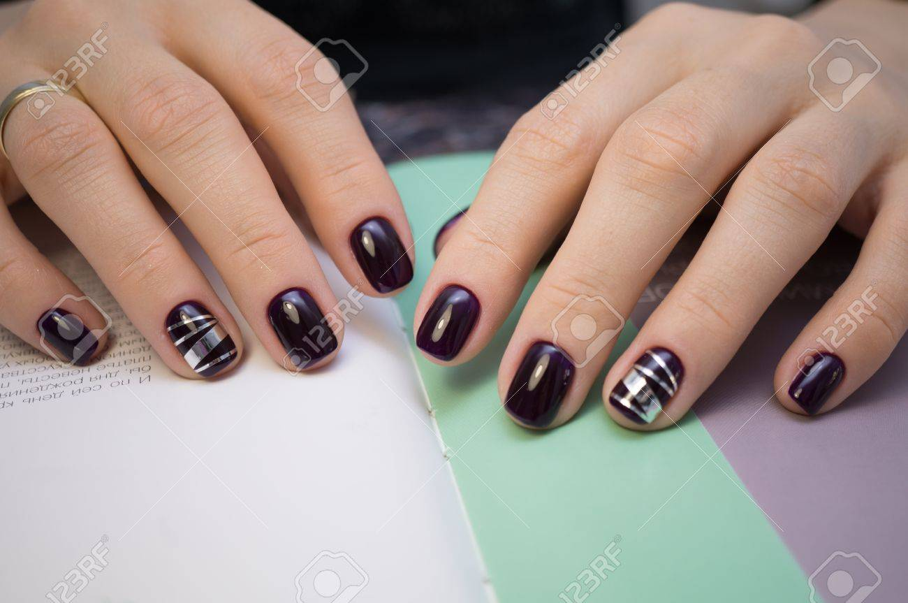 The Beauty Of The Natural Nails. Perfect Clean Manicure For The ...
