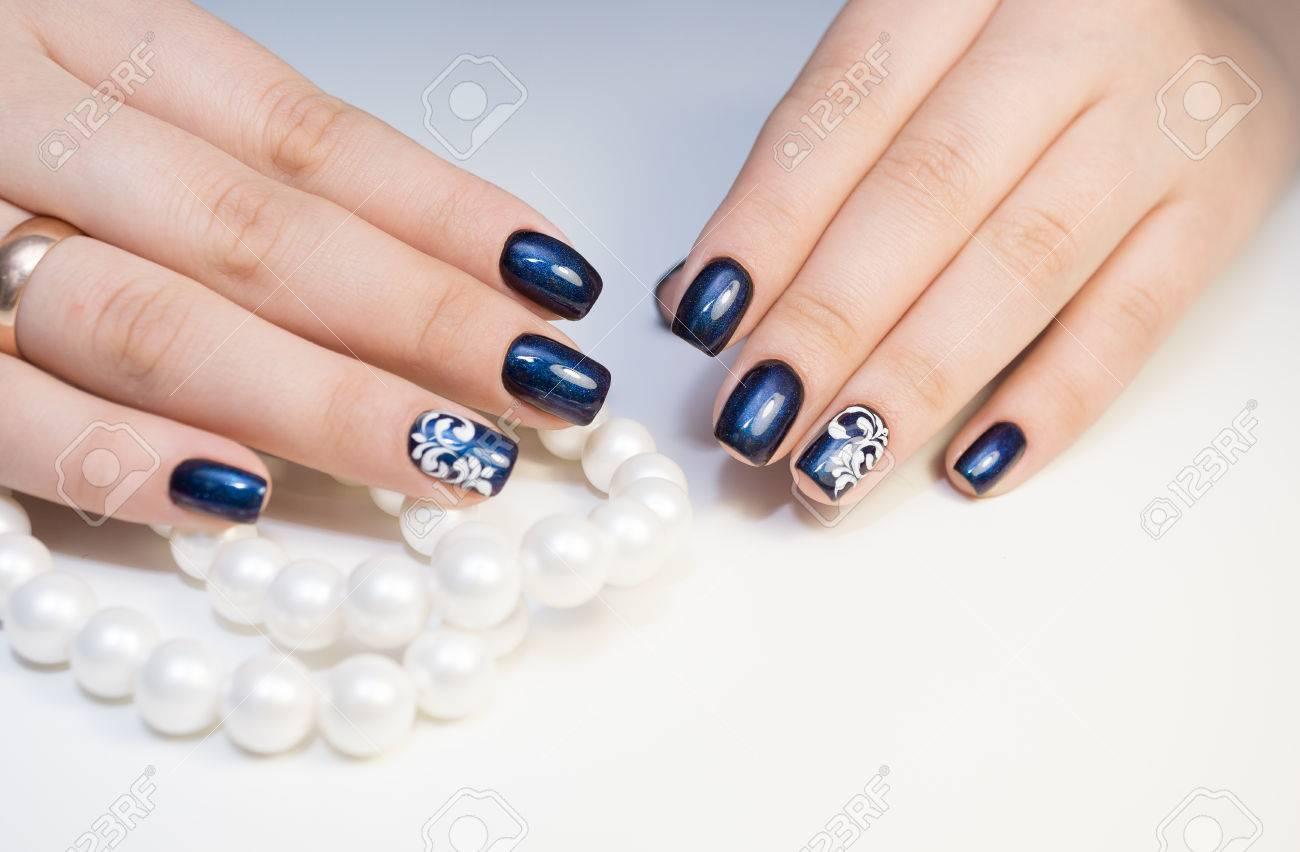 Nail art naturel