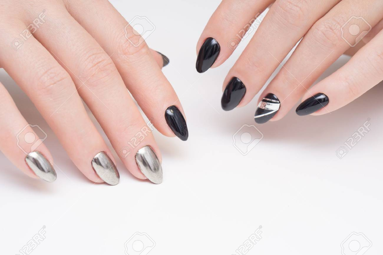 Perfect manicure and natural nails attractive modern nail art perfect manicure and natural nails attractive modern nail art design gel polish applied prinsesfo Choice Image
