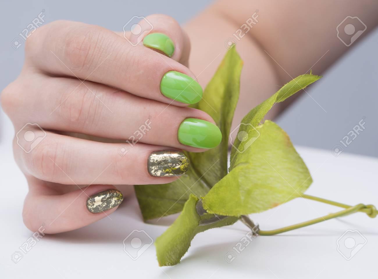 Beautiful Natural Nails Clean Manicure And Nail Art Womens