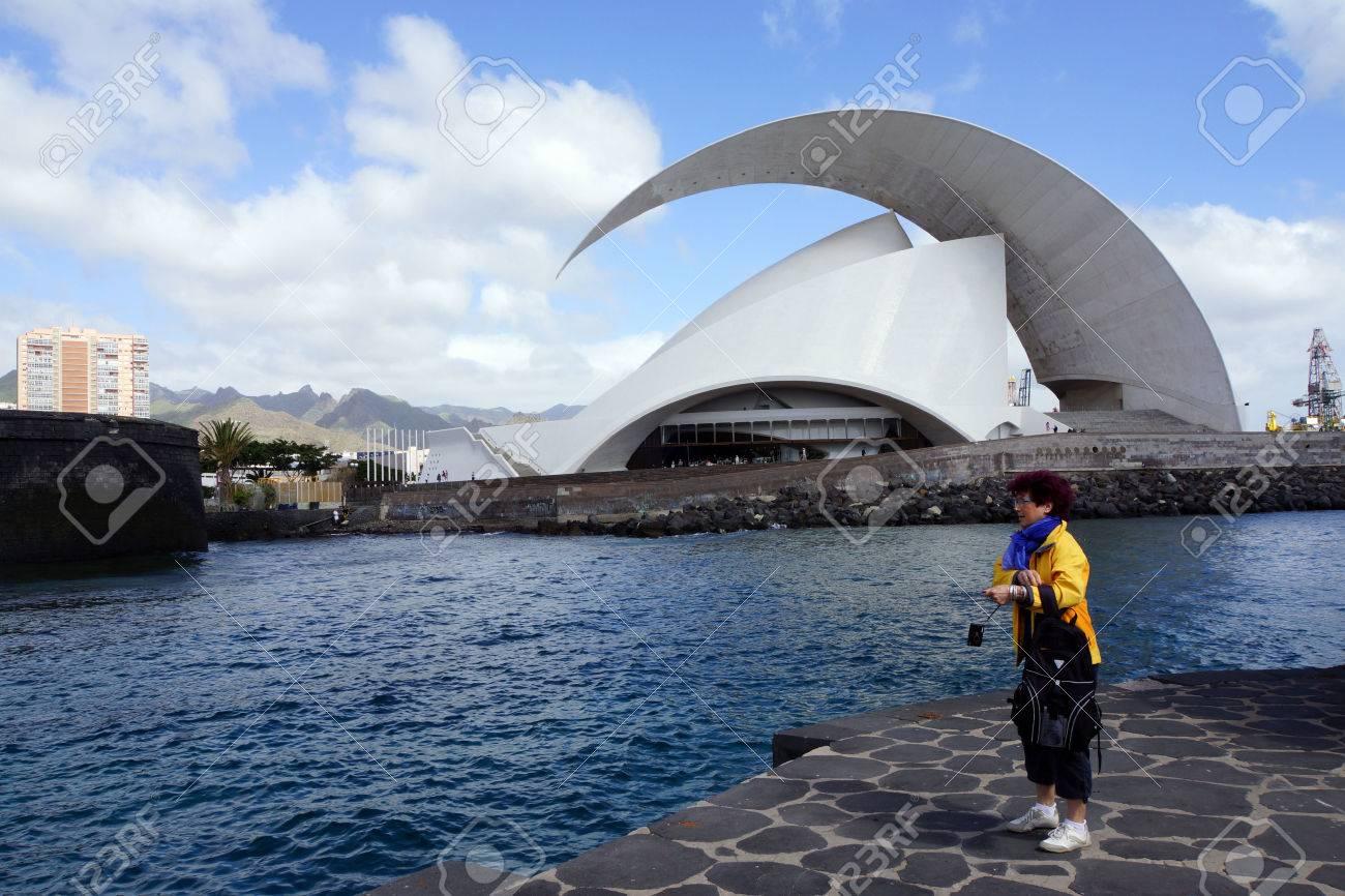 auditorio del arquitecto calatrava santa cruz de tenerife tenerife islas canarias espaa