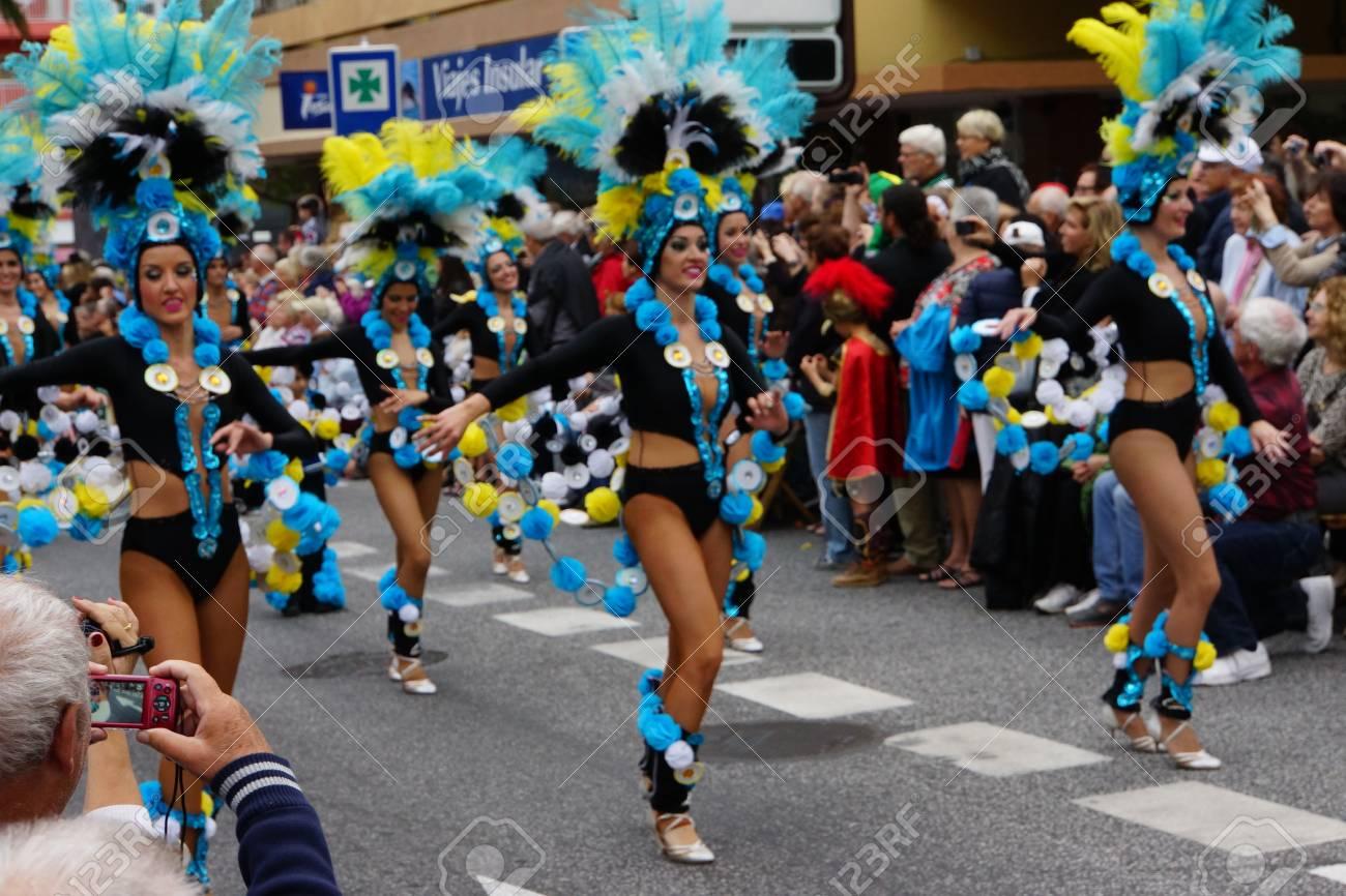 carnaval des iles canaries