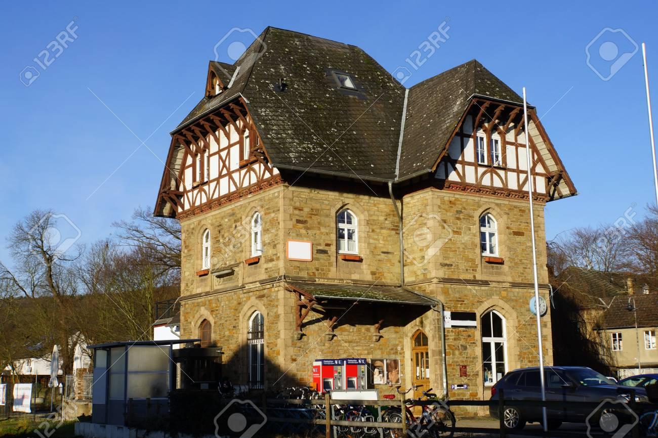 Station Bad Bodendorf Sinzig Rhineland Palatinate Germany Stock