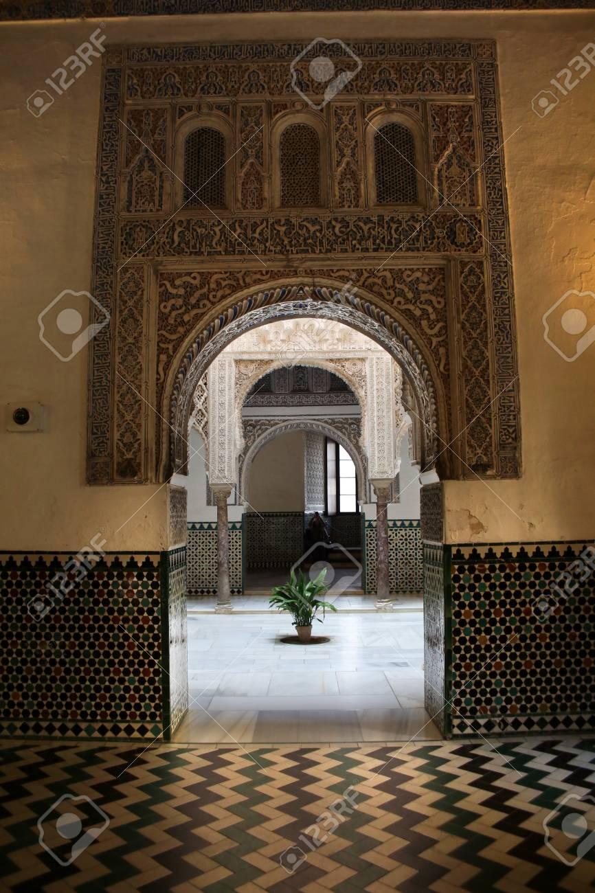 Salon De Los Embajadores Royal Palace Real Alcazar Seville