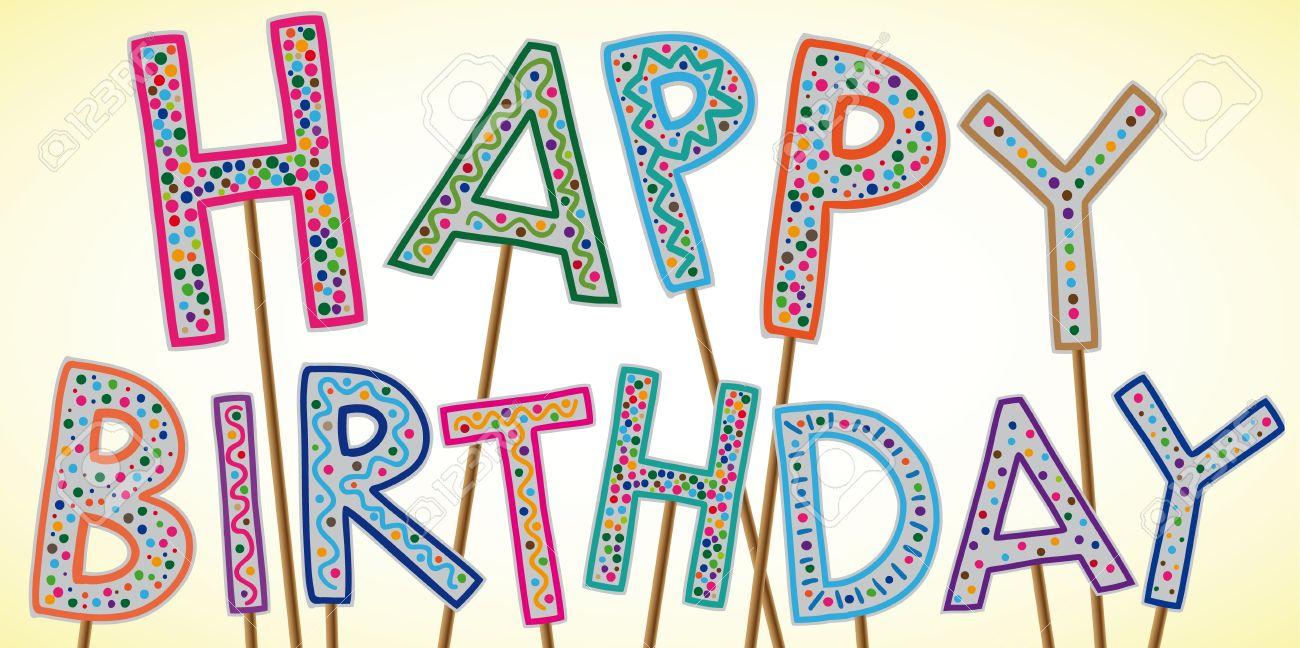 Поздравления из знаков препинания с днем рождения