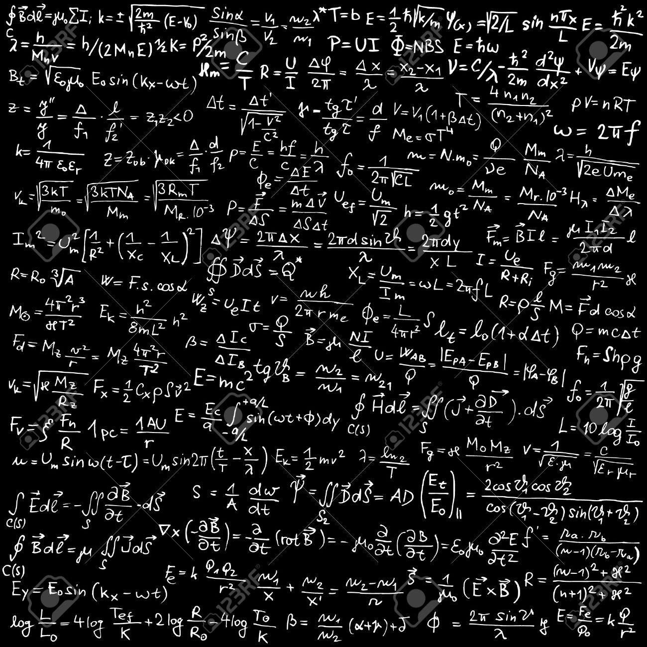 Quantum Physics Equations Wallpaper