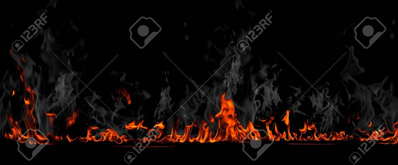 Flames background Stock Photo - 20644639