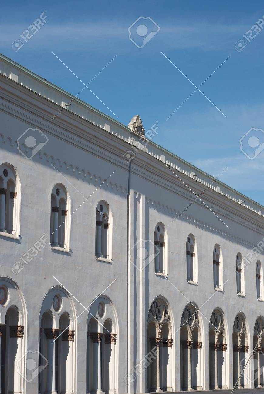 Facade of the Ludwig Maximilian University of Munich Stock Photo - 4426124