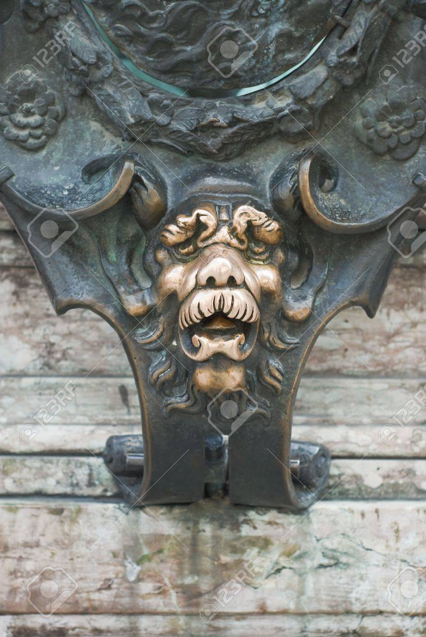 Lion Face as a Good Luck Symbol in Munich Germany Stock Photo - 7002200