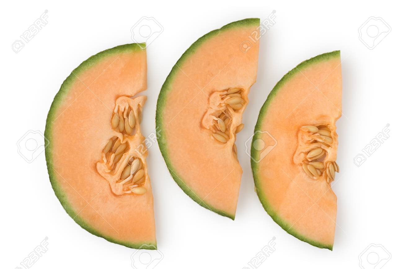 Cantaloupe as a Healthy and Nutritious Fruit Stock Photo - 12632969
