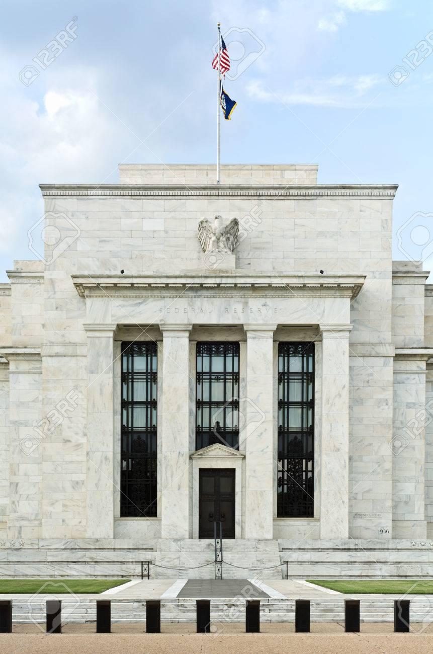 ワシントンの米連邦準備制度理事会ビル の写真素材・画像素材 Image ...