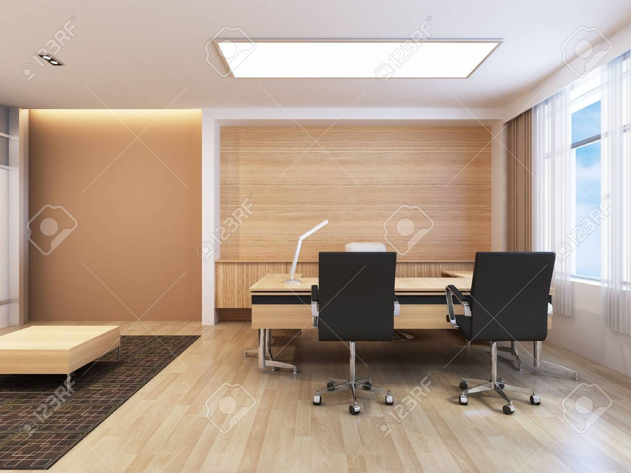 Office Working Area Stock Photo - 15750850
