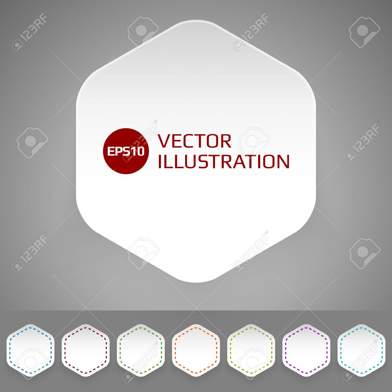 Set of badges in minimalistic style Stock Vector - 17205749
