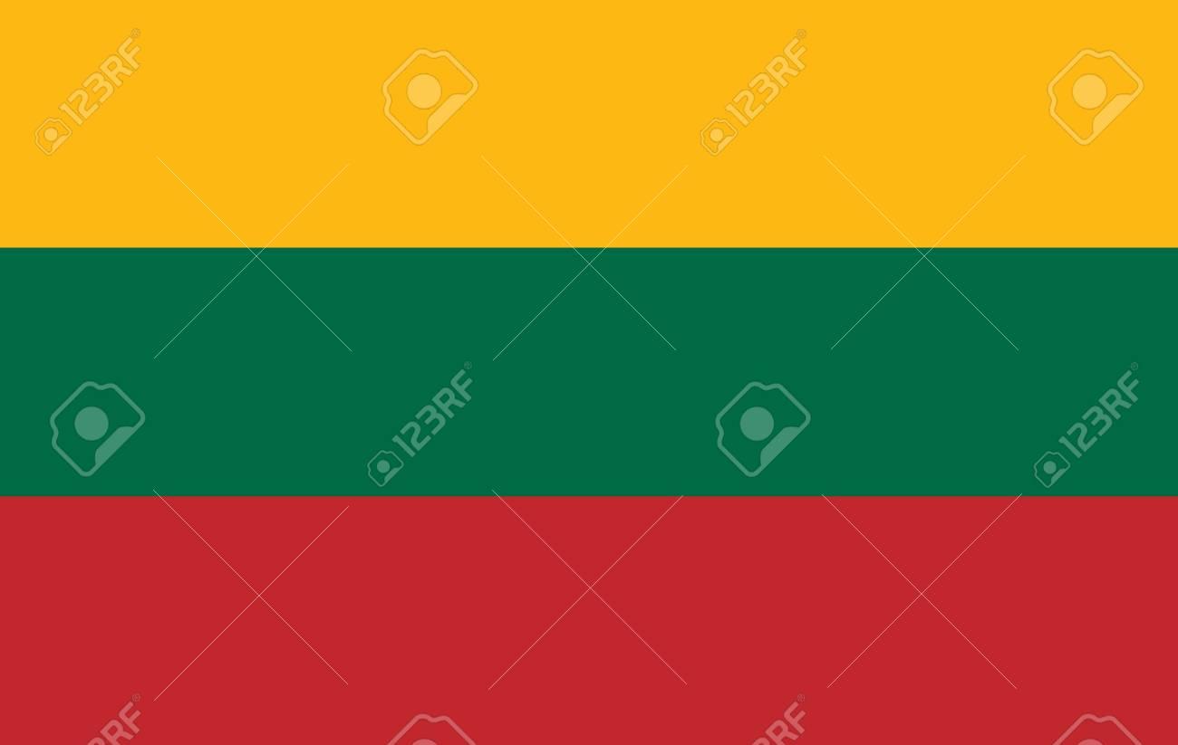 Lithuania flag icon. - 106512473
