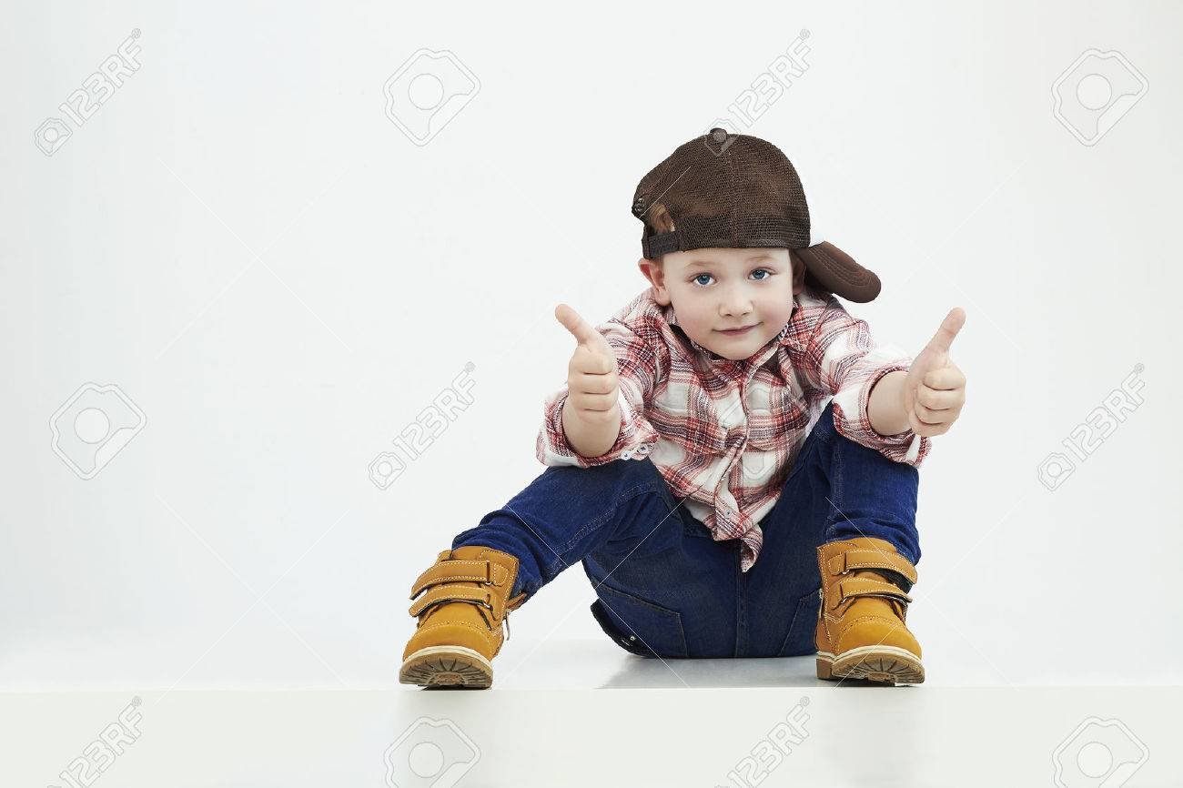 fashionable little boy.stylish kid in suit.funny child - 50408879