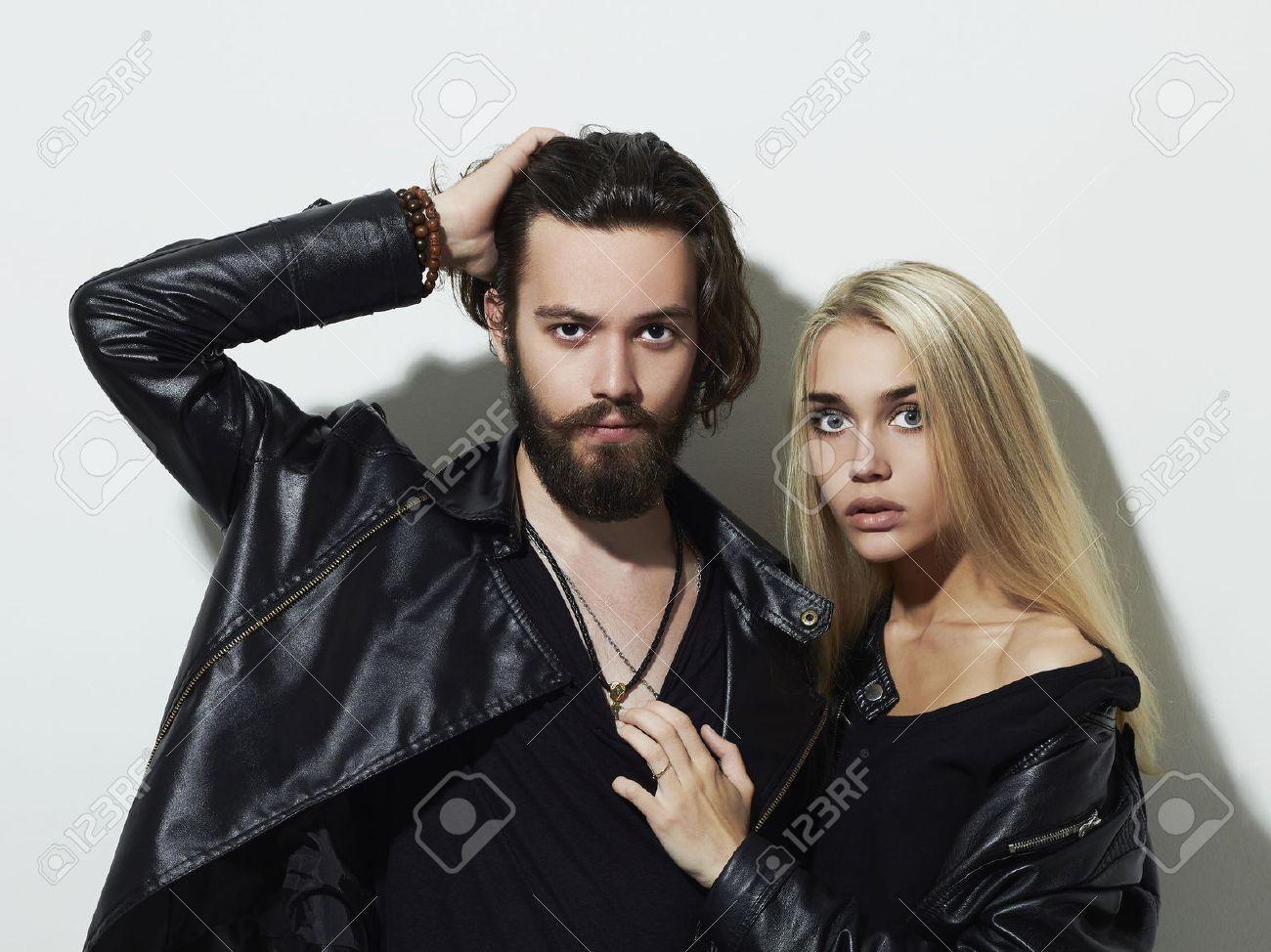 мужчина девушка модель фото