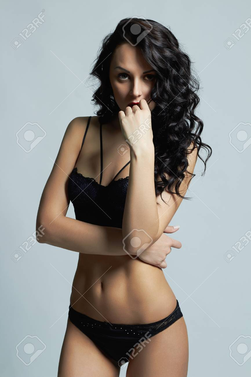 937c9da5bcc7 beautiful girl in lingerie. Sexy young woman in underwear Stock Photo -  70072940
