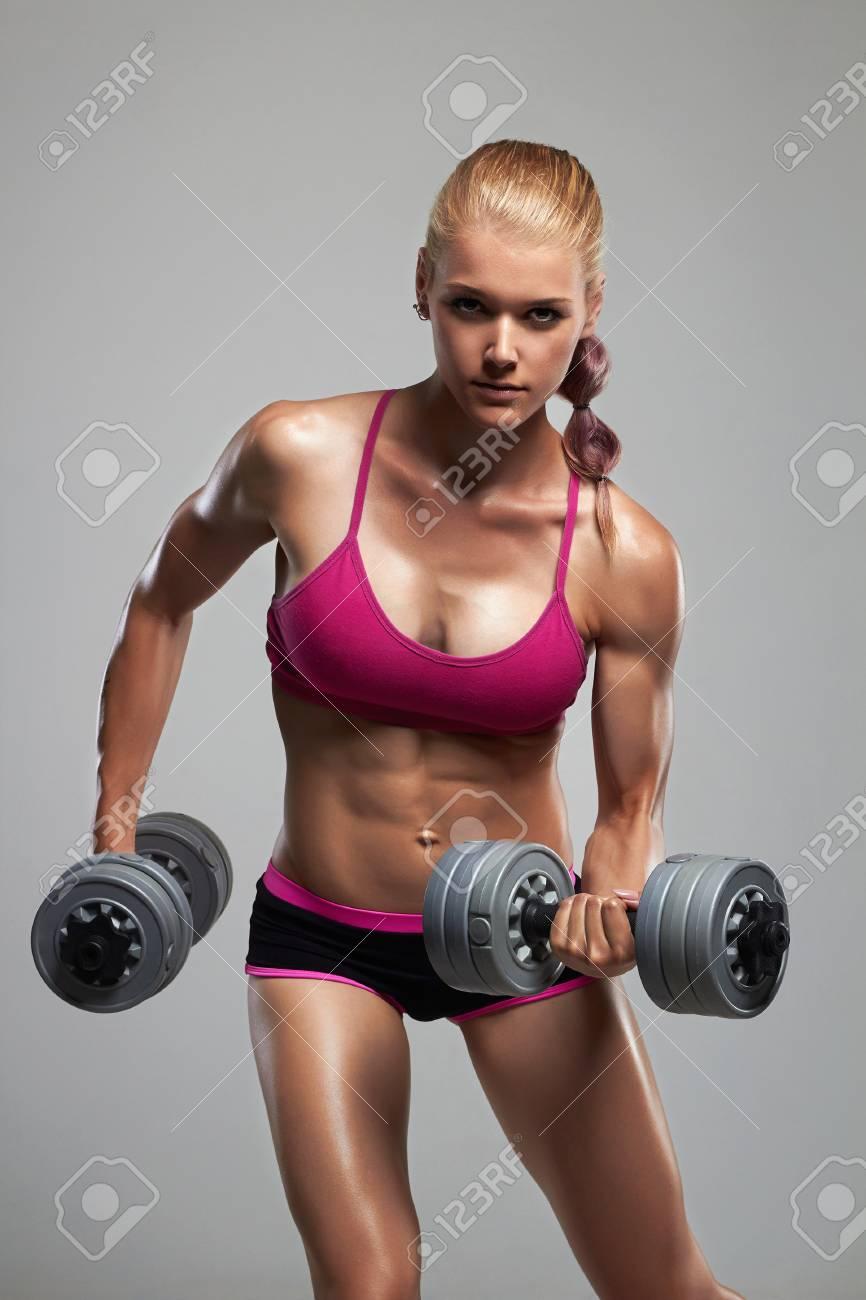 Muskel mädchen