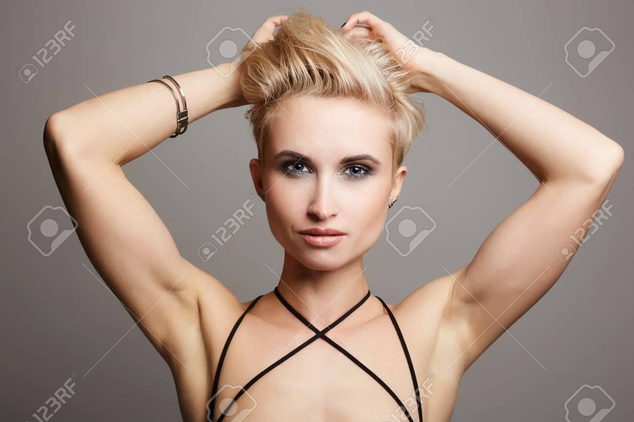 Real short blonde girls her firmly