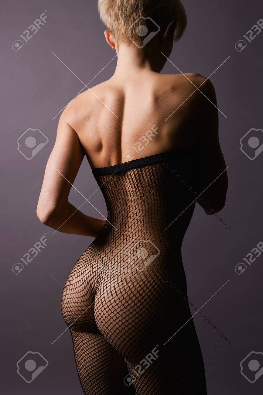 In nylons nackt frau Sexy Girl