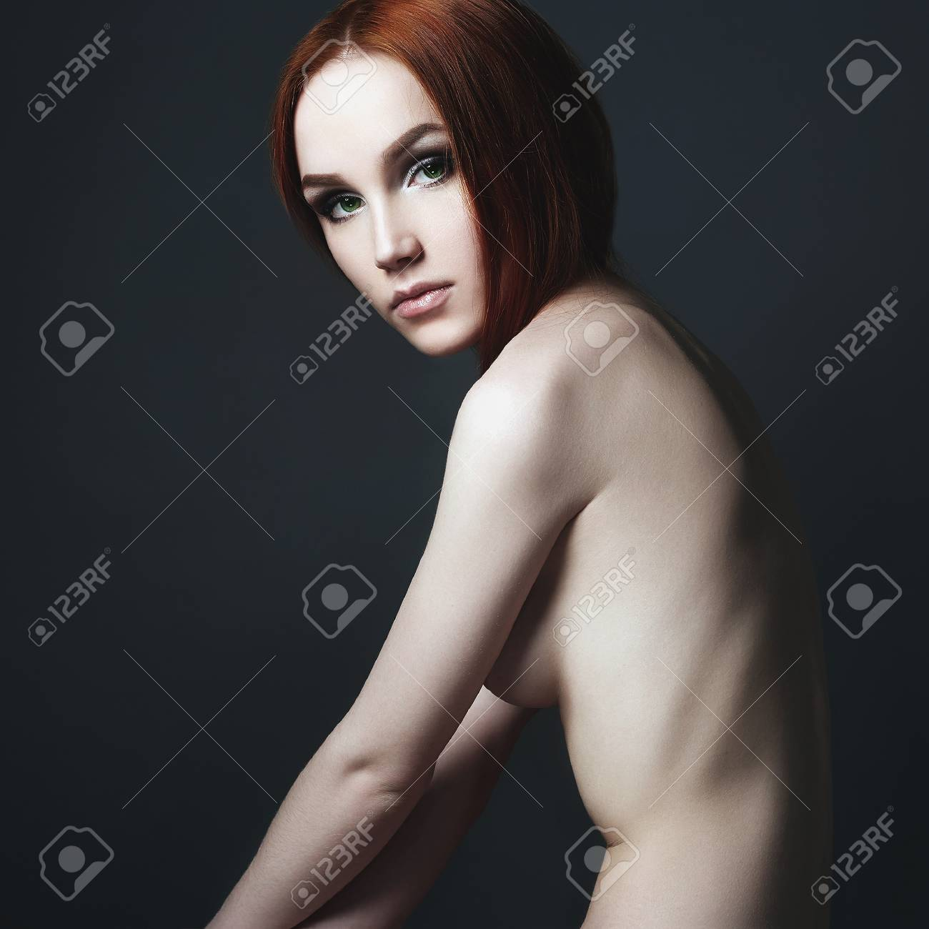red heads in the nude