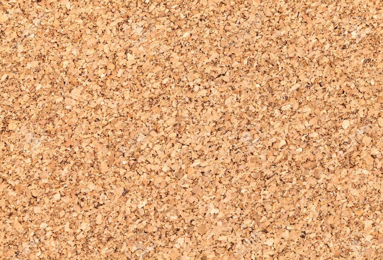 Empty Bulletin Board Background Texture Natural Cork Board Stock