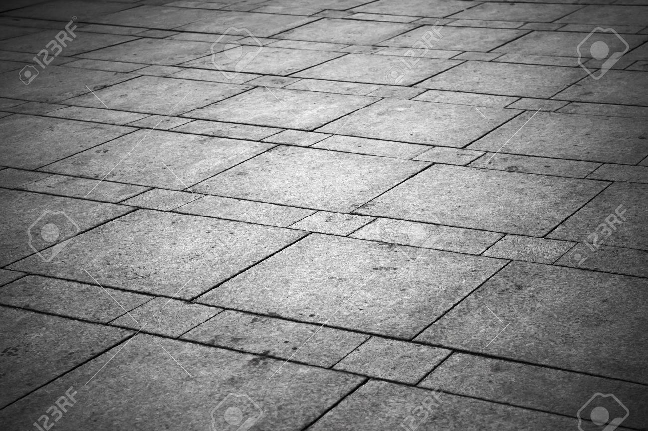Texture di sfondo grigio piastrelle pavimentazione suolo città foto