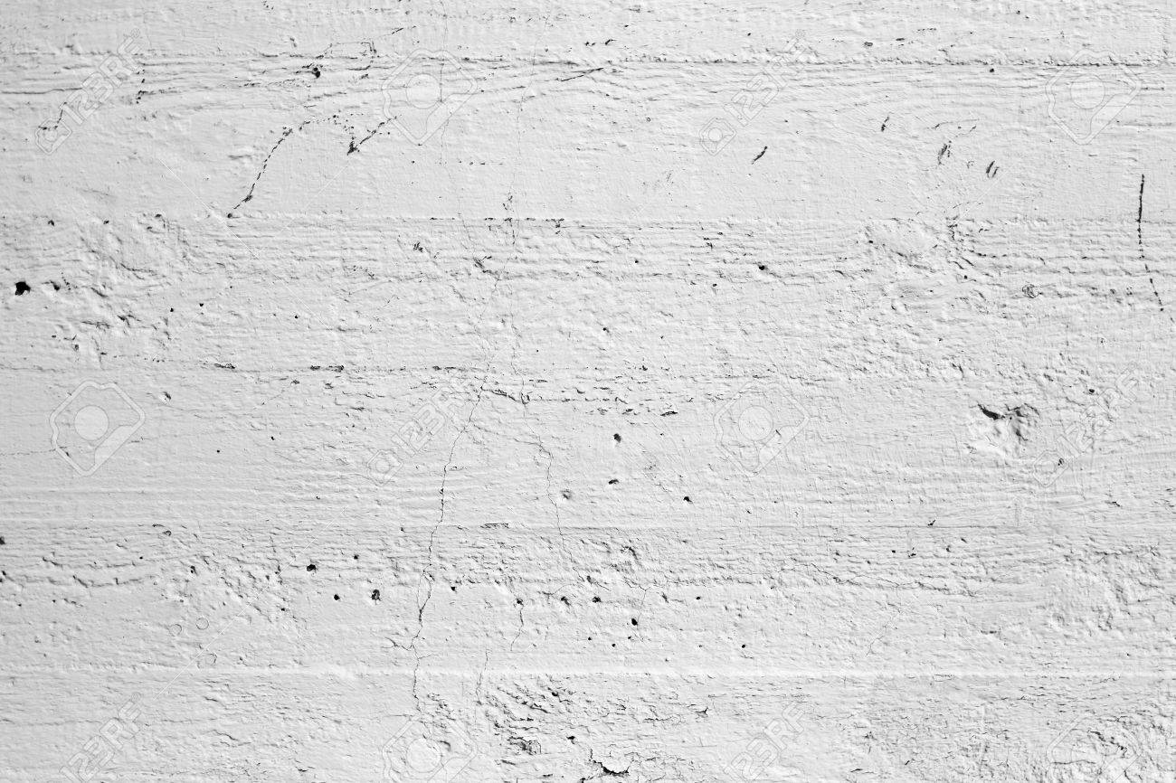Closeup White Painted Concrete Wall Texture Stock Photo Picture And