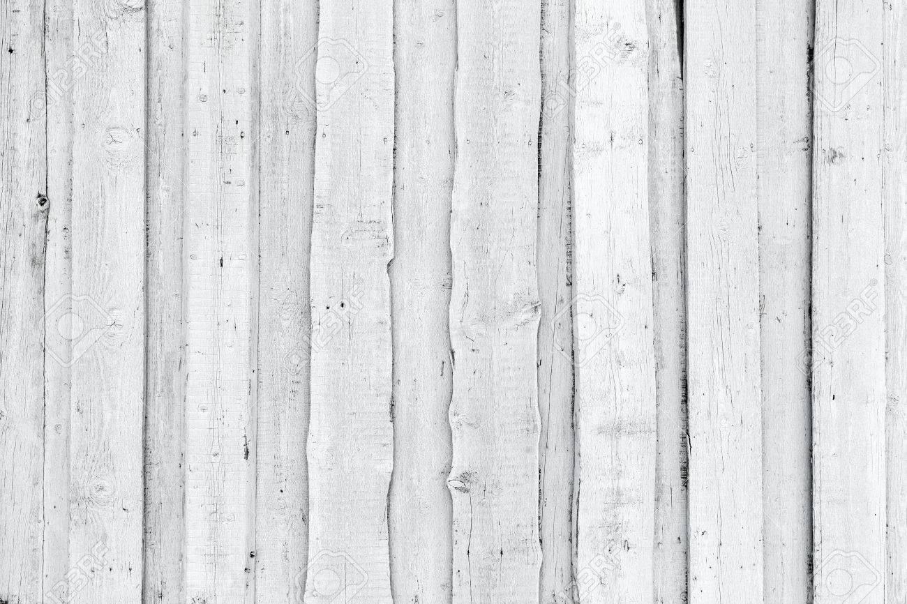Alte Grobe Weisse Holzwand Hintergrund Fotobeschaffenheit
