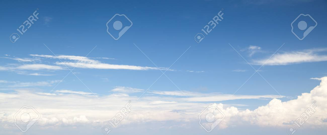 Natural blue cloudy sky panoramic background photo texture stock panoramic background photo texture stock photo 45577497 voltagebd Images