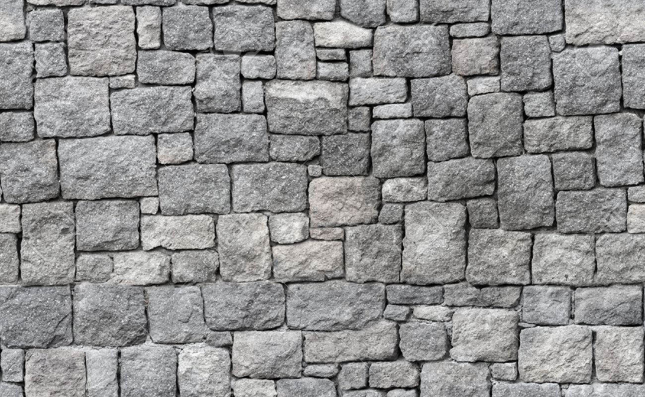 wall tile old gray stone wall seamless background photo texture