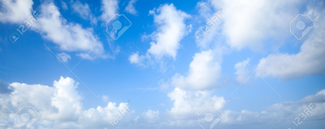 Natural blue cloudy sky panoramic background photo texture stock panoramic background photo texture stock photo 50204652 voltagebd Choice Image