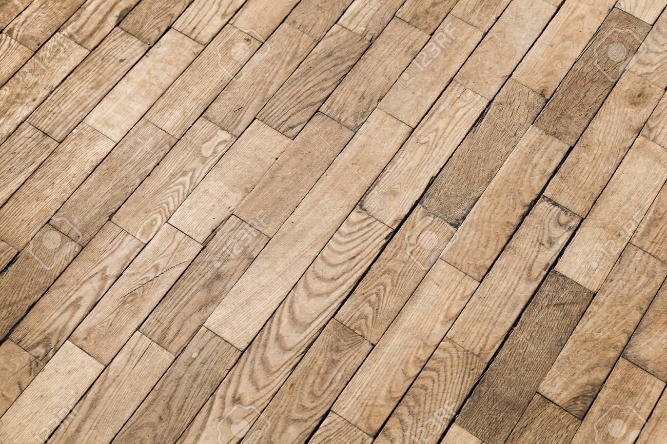 Old Wooden Parquet Pattern Oak Wood Tiling Background Photo