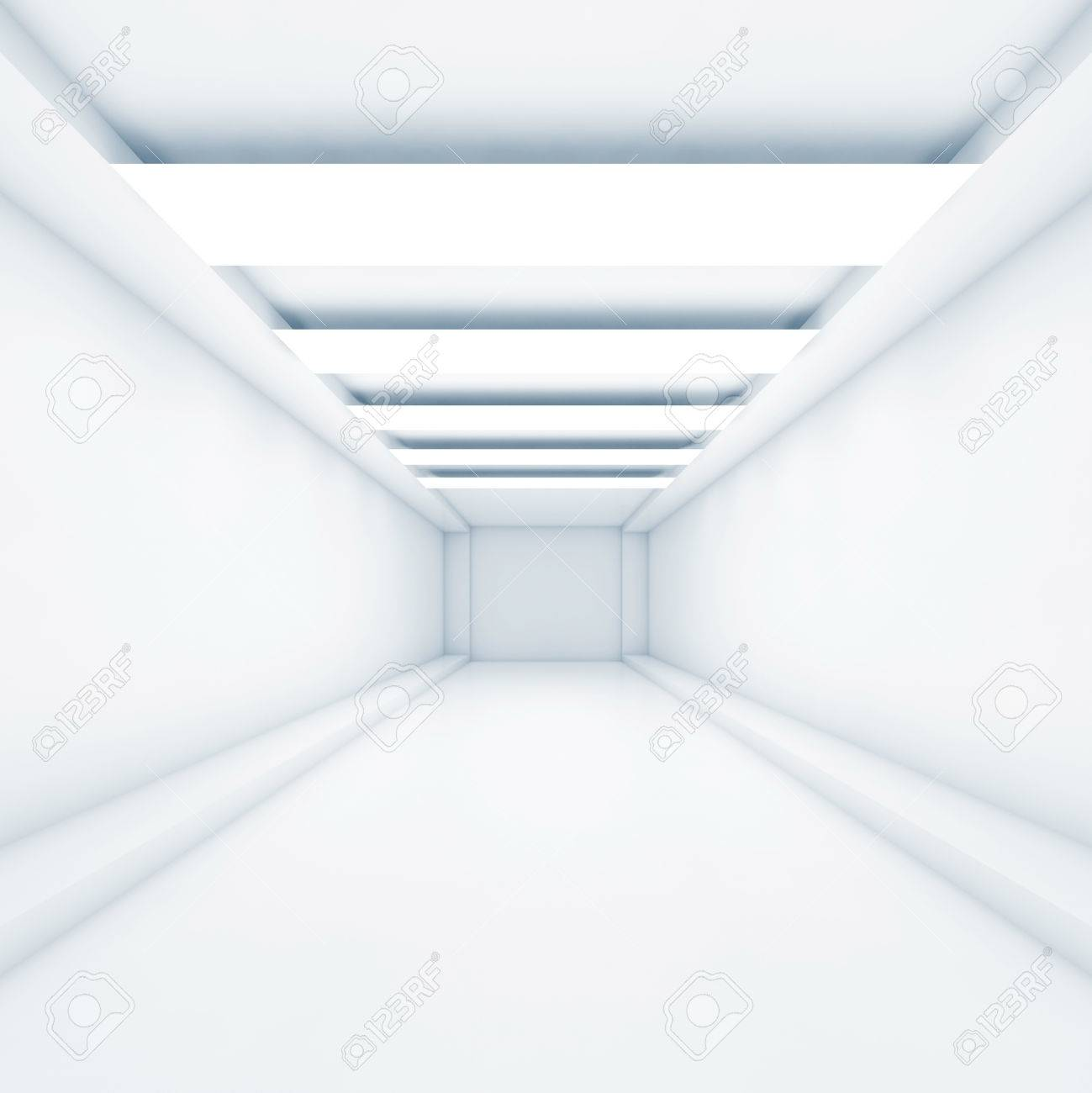 Abstract Empty Tunnel Background With Stripes Of Decorative Ceiling Stock Photo Picture And Royalty Free Image Image 67979854