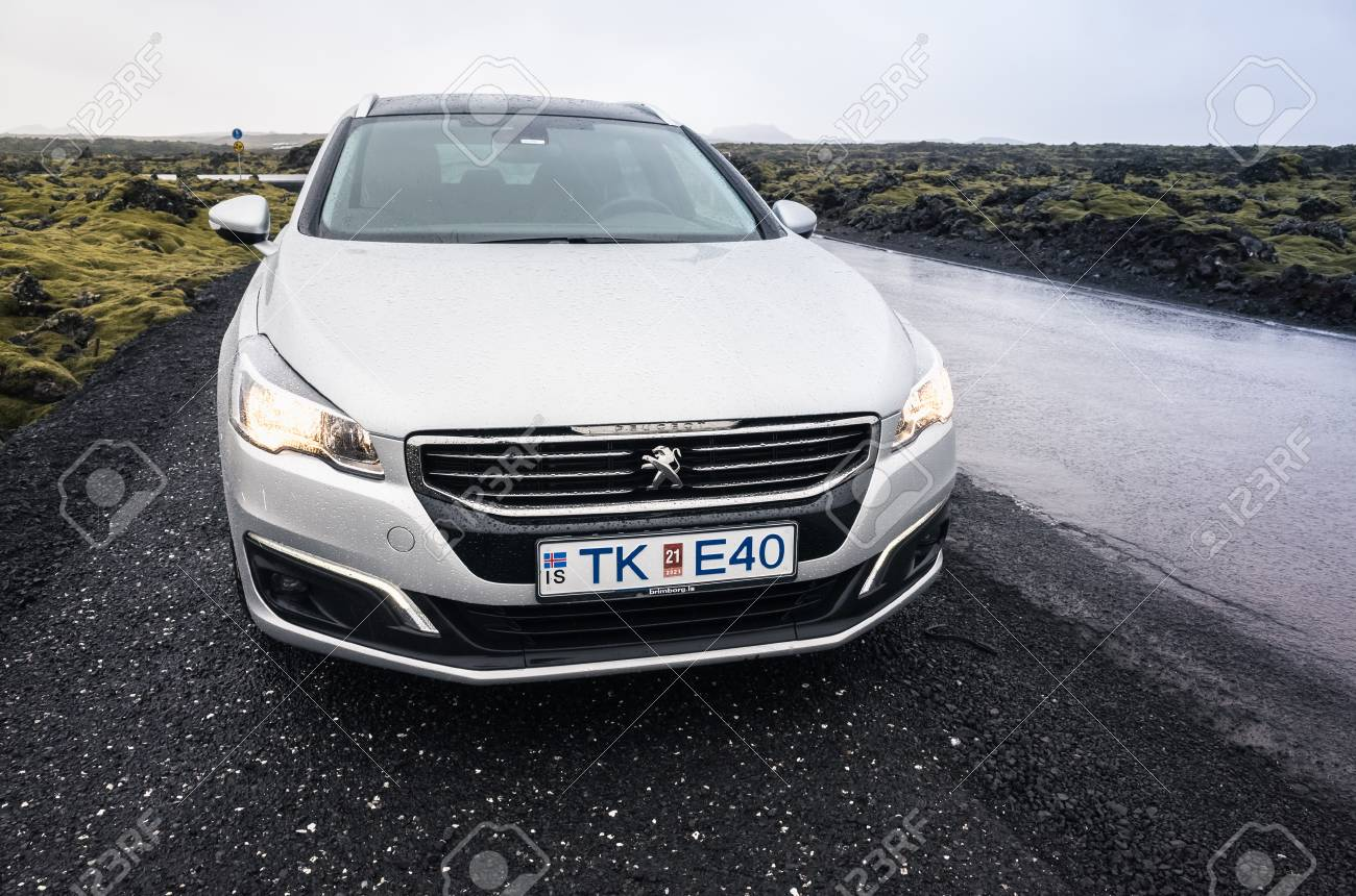 Reykjavik Iceland April 3 2017 Silver Gray Peugeot 508 Sw Stock Photo Picture And Royalty Free Image Image 79289742