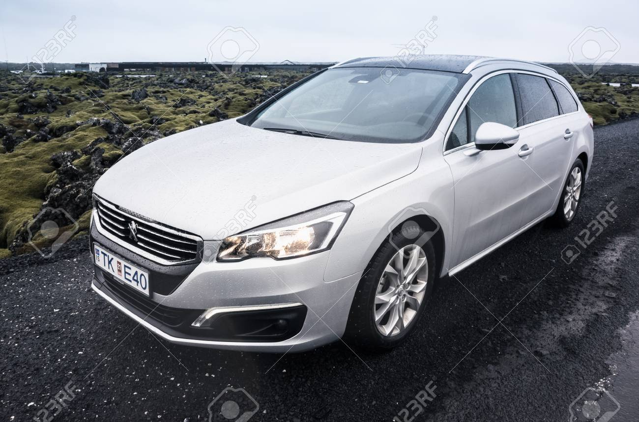 Reykjavik Iceland April 3 2017 Silver Gray Peugeot 508 Sw Stock Photo Picture And Royalty Free Image Image 79289746