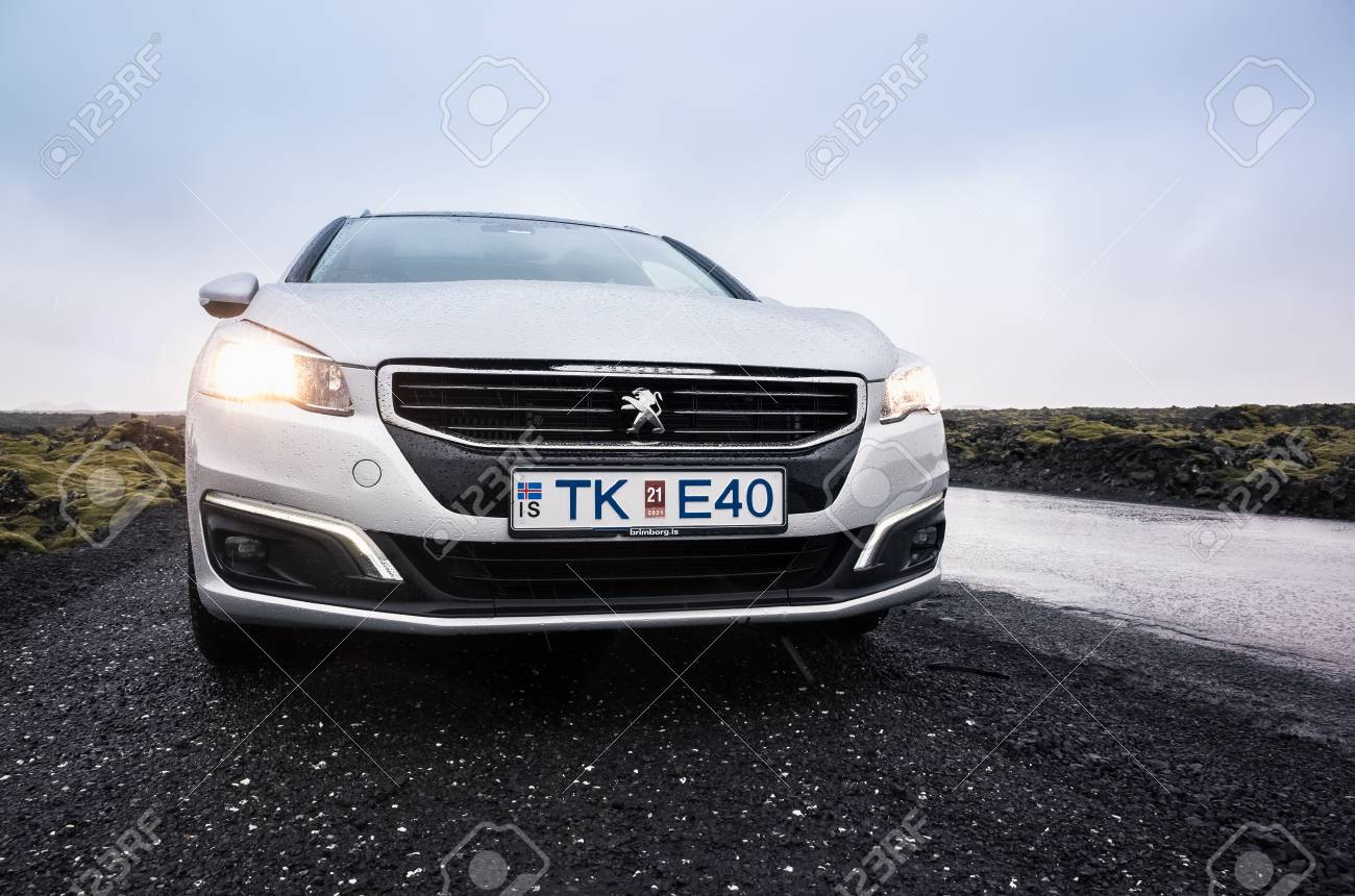 Reykjavik Iceland April 3 2017 Silver Gray Peugeot 508 Sw Stock Photo Picture And Royalty Free Image Image 79289754