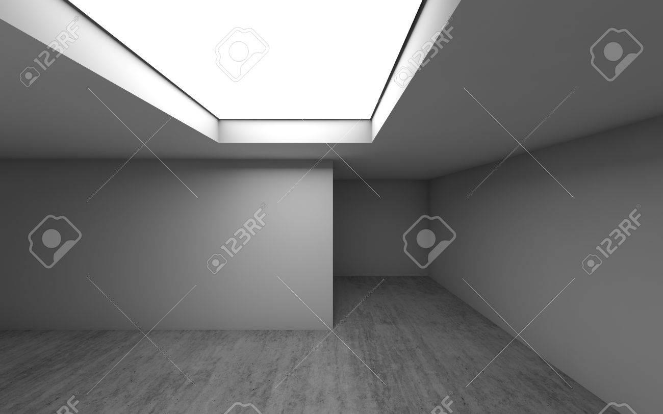 Zusammenfassung Zeitgenössische Architektur Vorlage, Leere Raum ...