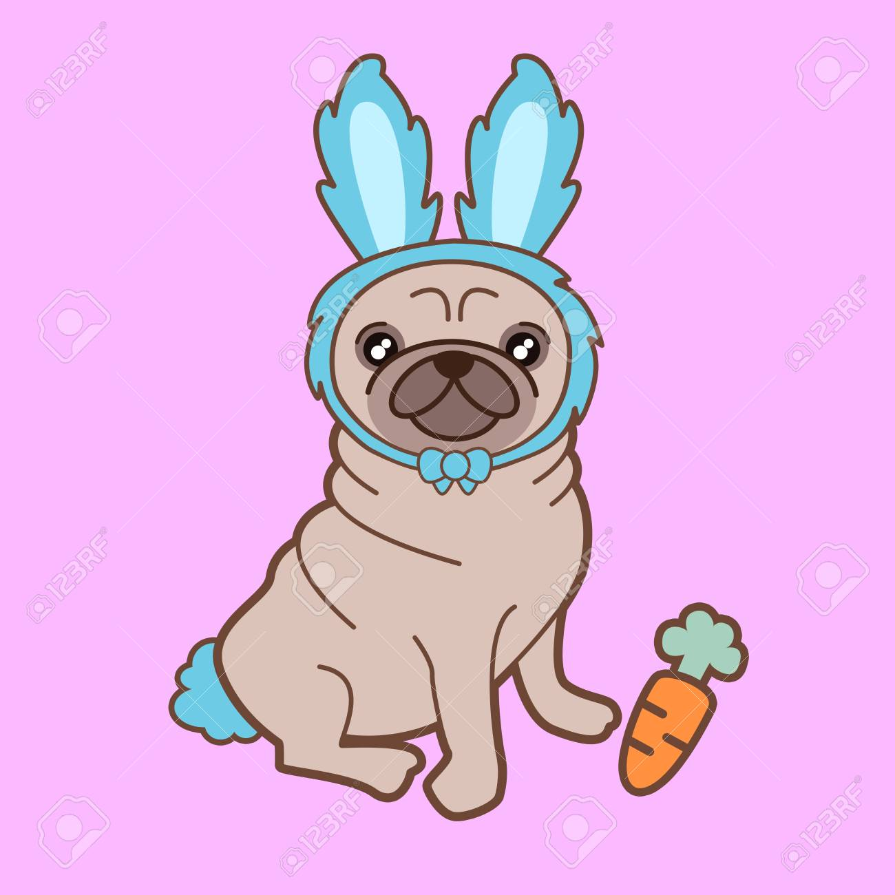 Popular Tiny Chubby Adorable Dog - 100735234-kawaii-illustration-of-a-cute-little-chubby-pug-dog-in-a-tiny-bunny-costume-how-adorable-is-this-  Best Photo Reference_151168  .jpg