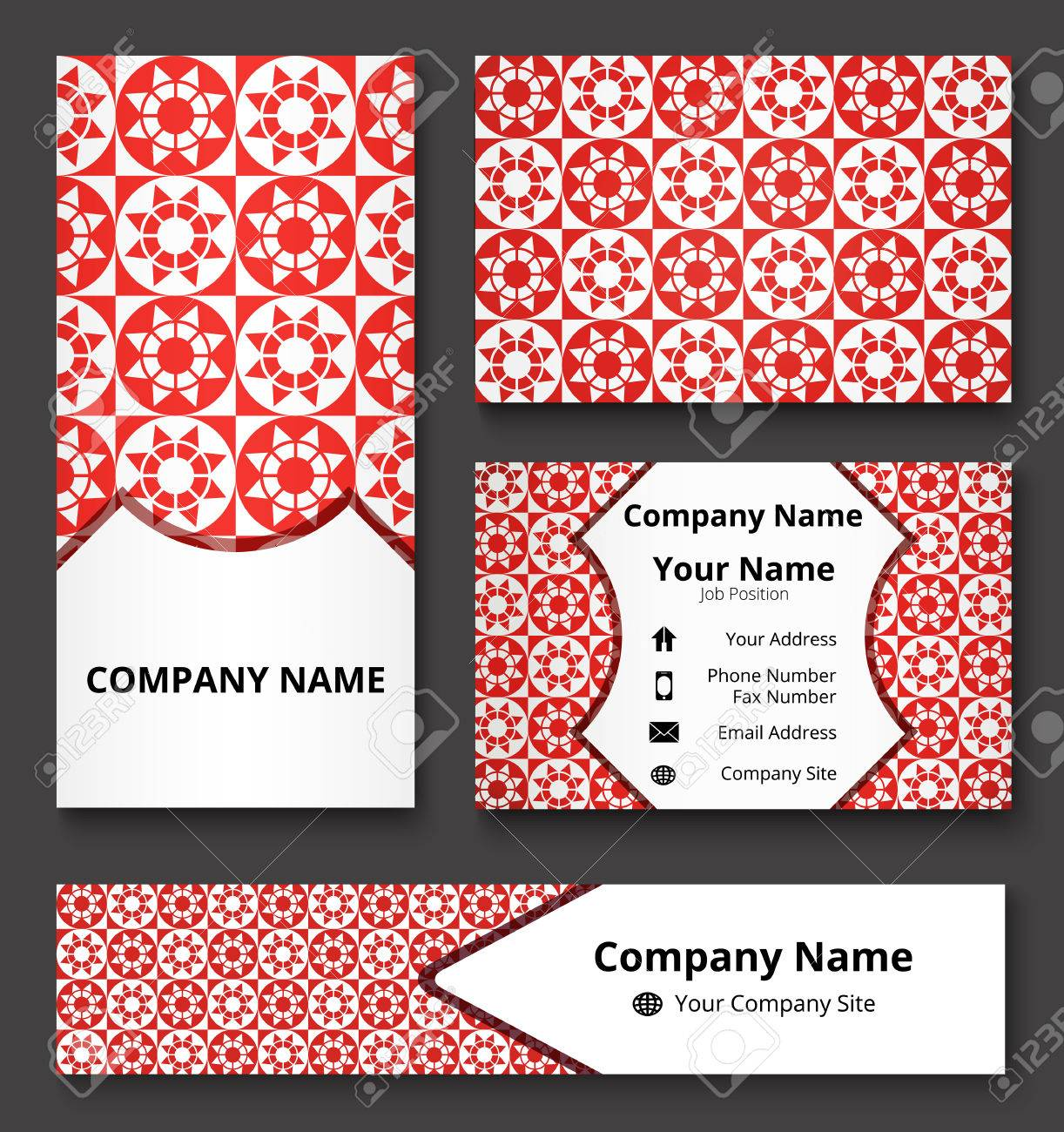 Luxury corporate identity mock up of banner business and invitation luxury corporate identity mock up of banner business and invitation cards of red and stopboris Choice Image