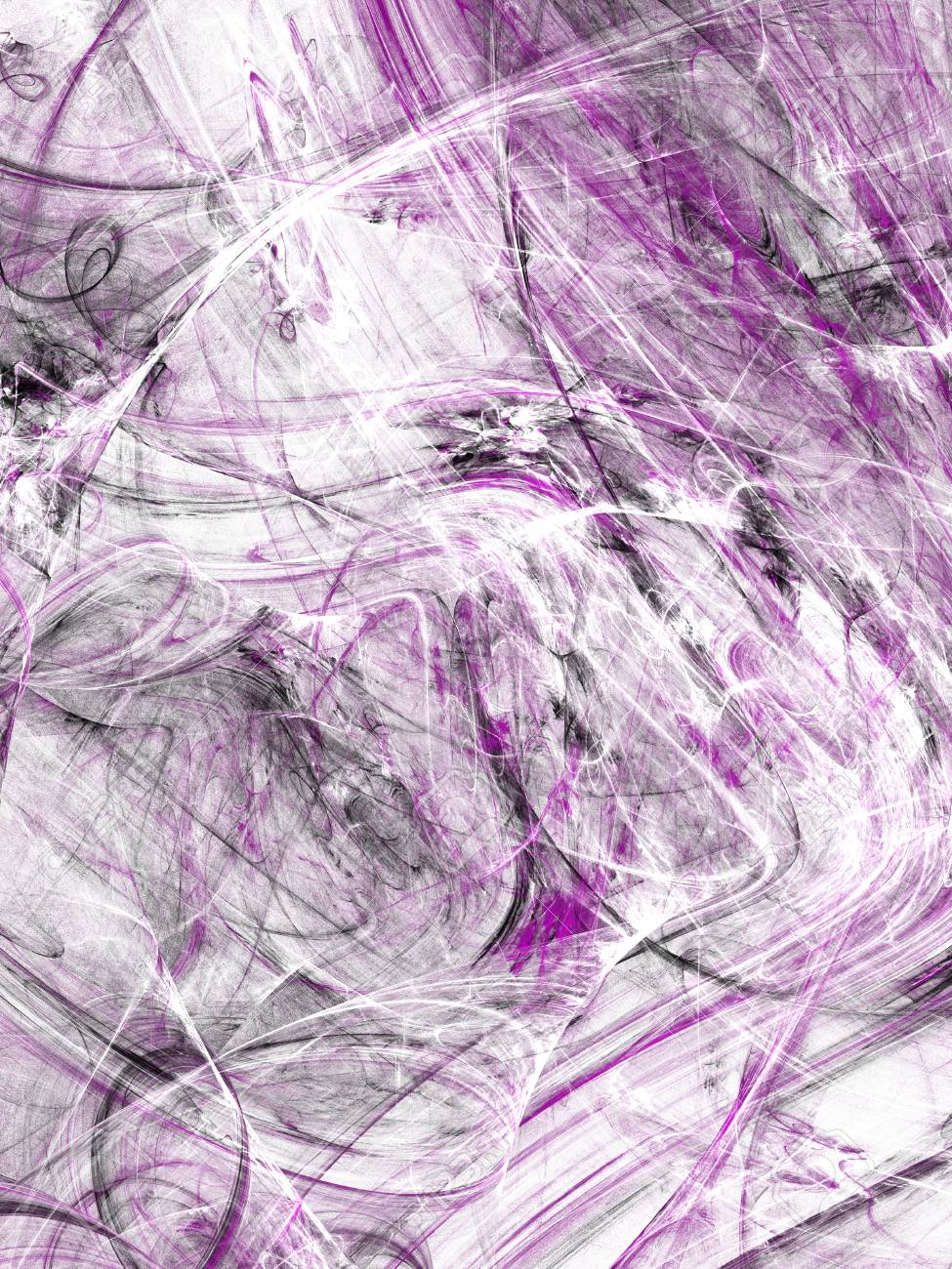 Grunge abstract black and purple background on white backdrop three colors rectangular vertical shape