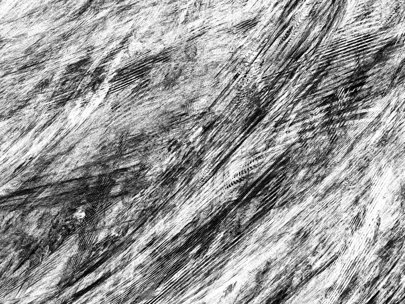 grunge abstract black white background on white backdrop two colors