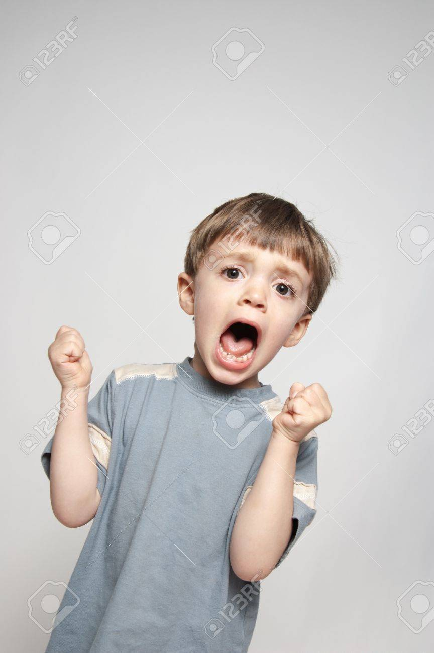 little boy screaming stock photo picture and royalty free image
