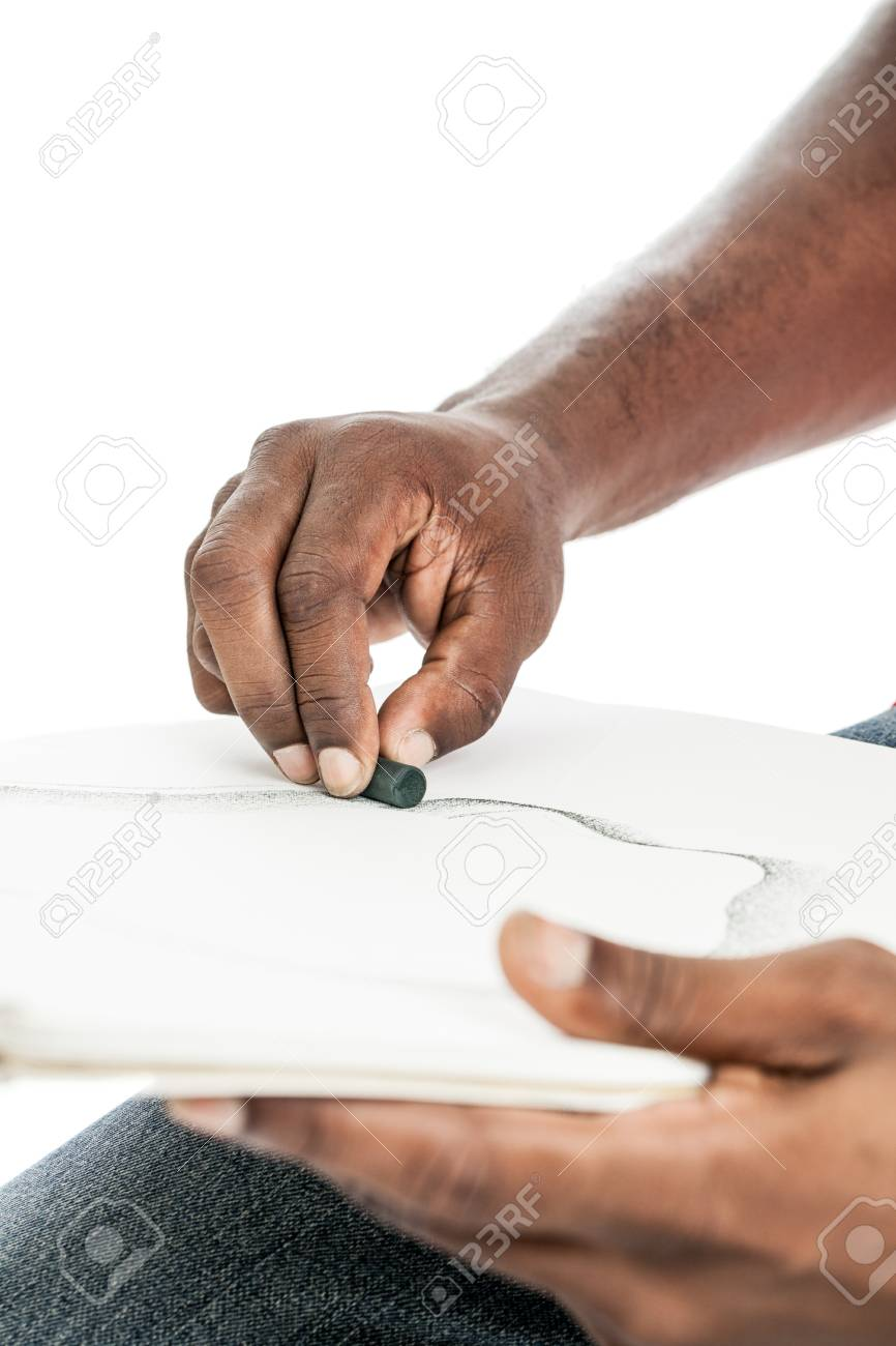 Close up of a black man Stock Photo - 22971139